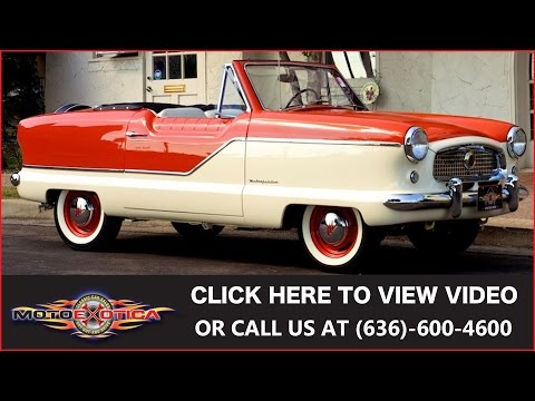 1961 Nash Metropolitan Convertible (SOLD)