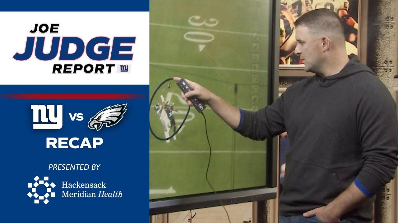 Coach Judge Breaks Down Giants vs. Eagles Week 7 Game Film | Joe Judge Report (Ep. 7)