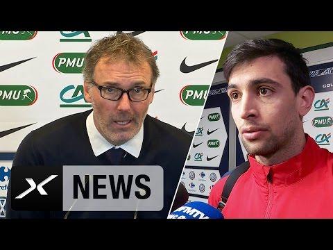 "Laurent Blanc: ""Gute Antwort auf Lyon-Niederlage"" | AS Saint-Etienne - Paris Saint-Germain 1:3"