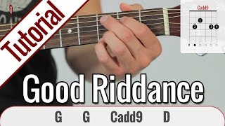Green Day - Good Riddance (Time of Your Life) | Gitarren Tutorials Deutsch