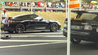 NISSAN SKYLINE R35 VS COSWORTH TURBO HD