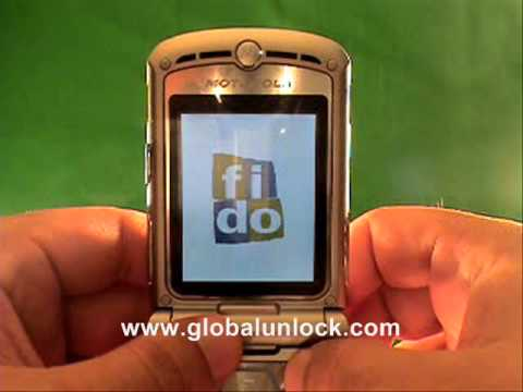 Vodafone Portugal Motorola KRZR K1 Unlock Method
