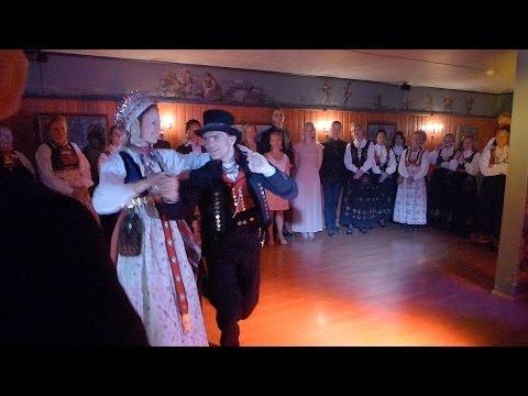 Norwegian folk dance for weddings