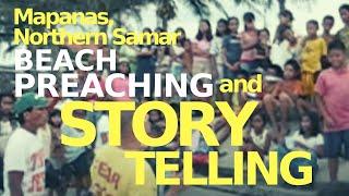 Beach Preaching in Mapanas, Northern Samar