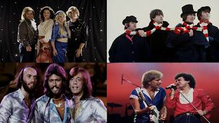 Bee Gees, ABBA, Air Supply, The Beatles Soft Rock Songs - Melhores Musicas Grandes Sucessos