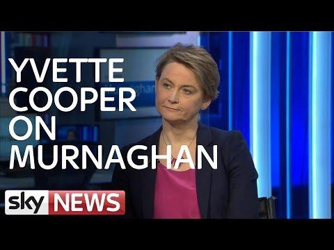 Yvette Cooper Talks Refugee Crisis and Europe on Murnaghan