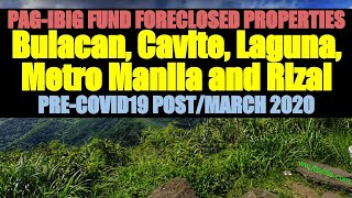 Foreclosed Properties, Ncr, Cavite, Bulacan, Laguna, Rizal From Pag-ibig Fund