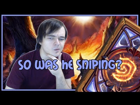 Hearthstone: So was he sniping? (control priest)