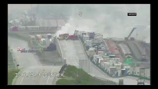 بالفيديو| مصرع اثنين في تحطم طائرة بولاية ويسكونسن الأمريكية