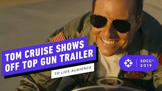 Tom Cruise Surprise Appearance at Top Gun: Maverick Panel - Comic Con 2019