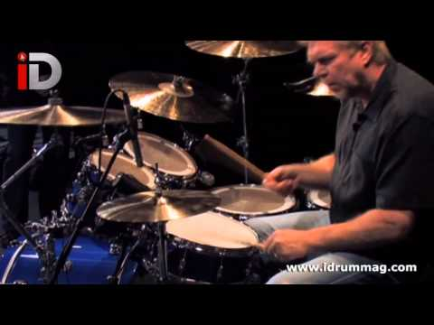 John 'JR' Robinson Plays DW Performance Drums Demo