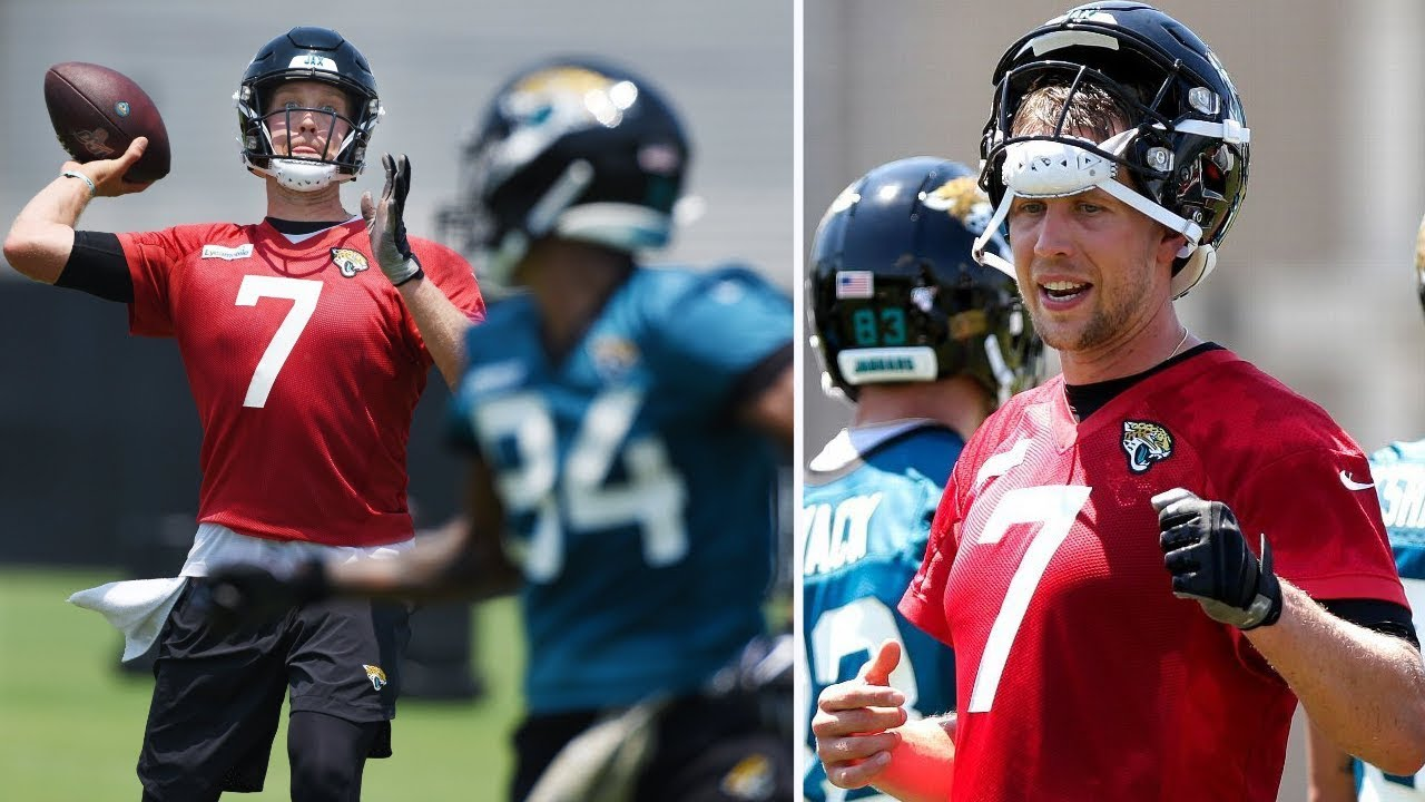 Nick Foles will return to practice for Jaguars this week