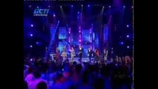 Indah Nevertari ft Fatin Novita  Hanin Dhiya Ghaitsa Kenang   'Brave' @ Mega Konser Dunia RCTI
