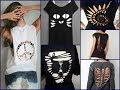 30 Best DIY T Shirt Cutting Ideas for Girls - DIY Clothes Life Hacks