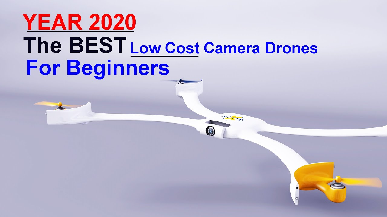 YEAR 2020 - The BEST Low Cost Drones for Beginners - These are the ones I recommend