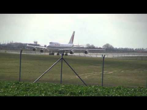Boeing B747-4J6 Air China Praha Ruzyně LKPR