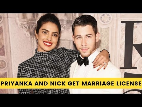 Priyanka Chopra and Nick Jonas to get a marriage license in the United States? Mp3