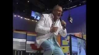 Raul Grisanty Baladista Dominicano en el Show Super Exitos 2012  - Ciudad Corazon