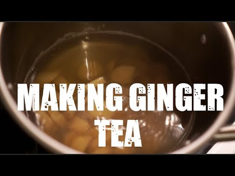 How To Make Ginger Tea At Home | Quick And Easy