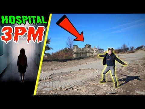 I Found an Abandoned Hospital on a Cliff at 3PM!!