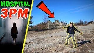 I Found an Abandoned Hospital with my Dad while Hiking!!