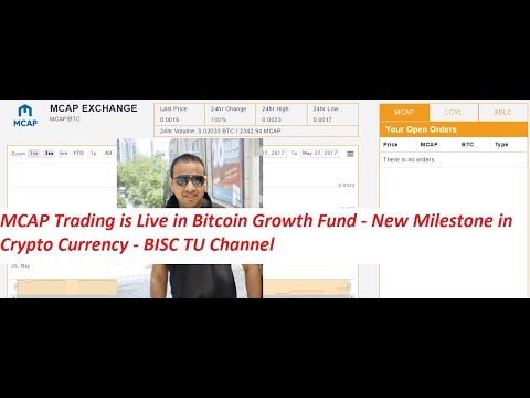 MCAP Token Trade Is Live On Bitcoin Growth Fund - New Milestone In Cryptocurrency #AmitBhardwaj