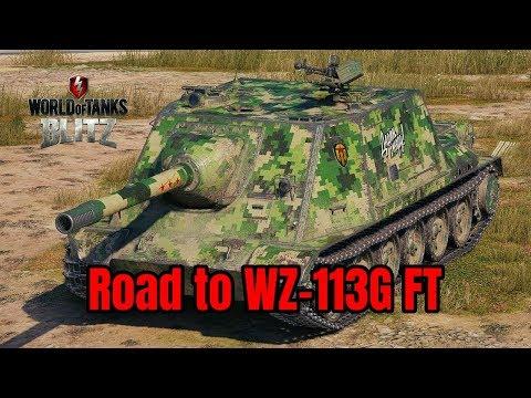 Road to WZ-113G FT ~ World of Tanks Blitz [ LIVE ] thumbnail