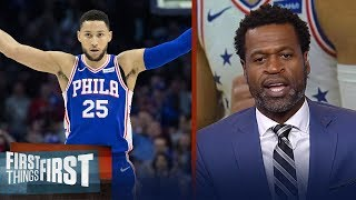 Stephen Jackson offers Ben Simmons advice despite 31-point night | NBA | FIRST THINGS FIRST