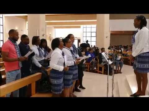 2019 - Coro da Capelania Africana na Igreja de São Pedro do Mar, Quarteira