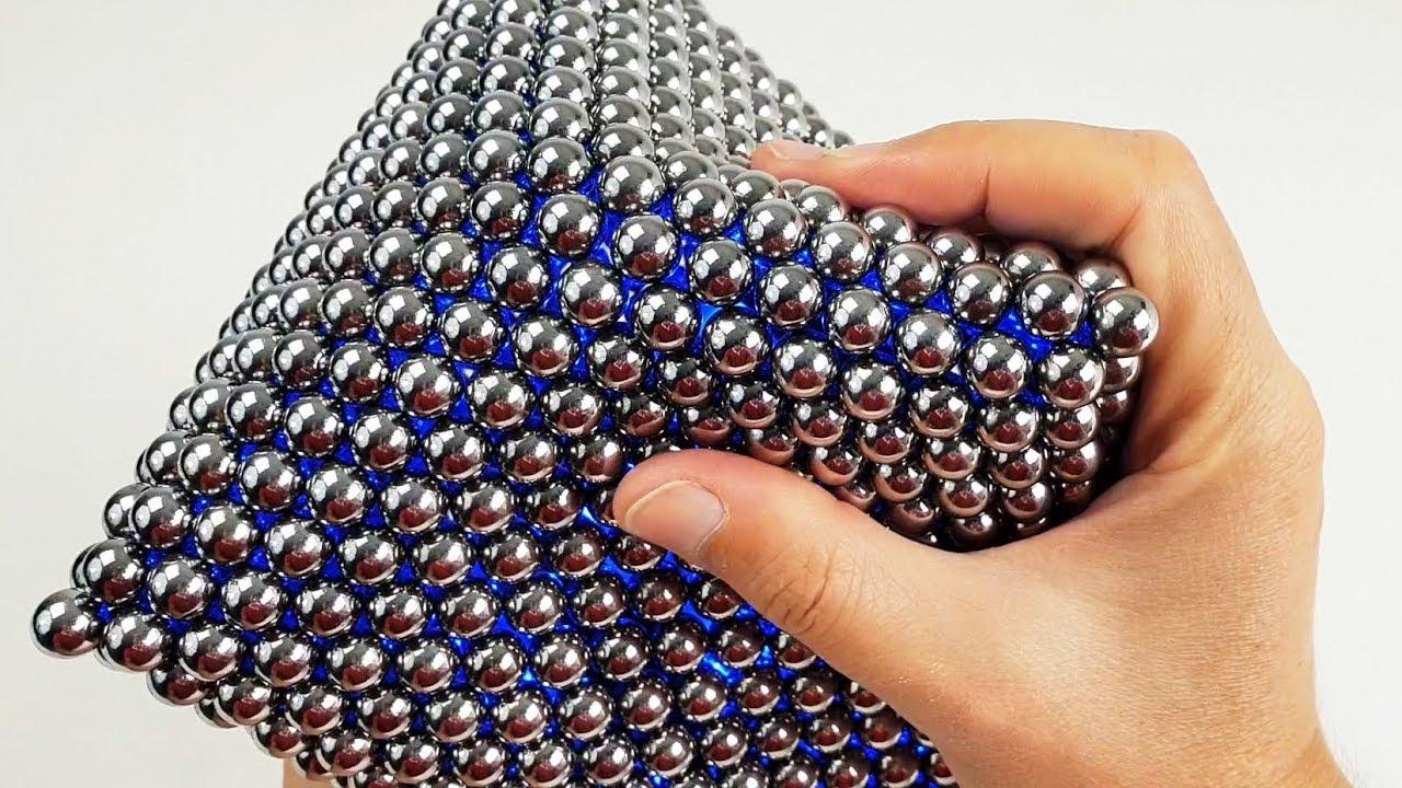 Magnet Octahedron , Light and Slime | Magnetic Games