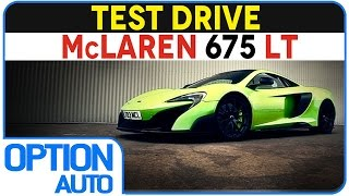 ★ Test Drive • McLaren 675LT on Racetrack (Option Auto)