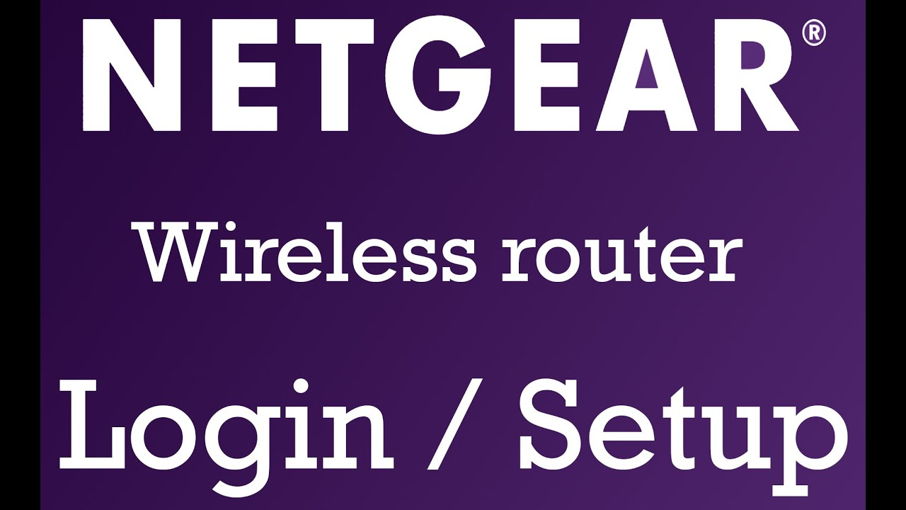 Netgear Router : How to change username or password of Netgear wireless  router
