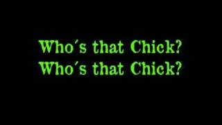 David Guetta ft. Rihanna - Who´s that chick ( Lyrics on Screen )