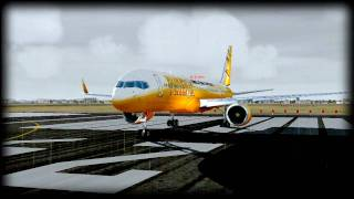 Boeing 757 Take Off at Saez - FS2004