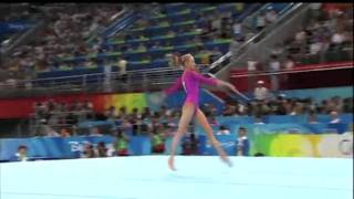 Carly Patterson and Nastia Liukin.Floor Exercise of a Lifetime.