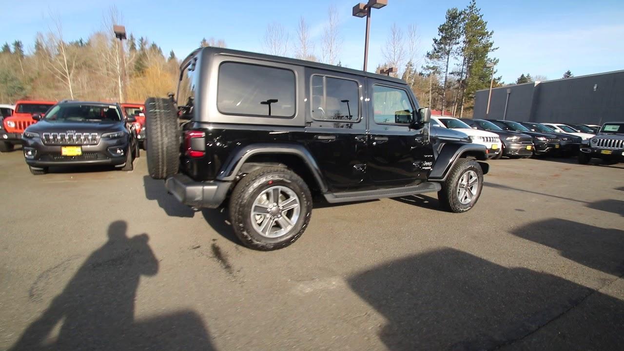 2019 jeep wrangler unltd sahara black kw534157 rairdon s rh youtube com