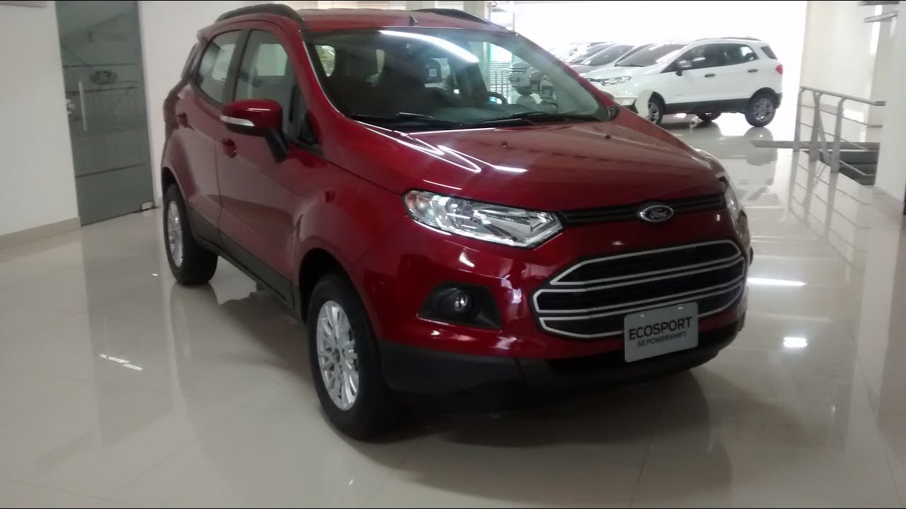 ford ecosport s e automatica 2017 test drive youtube. Black Bedroom Furniture Sets. Home Design Ideas