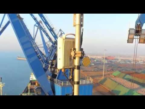Real-time video monitoring at the Port of Shanghai