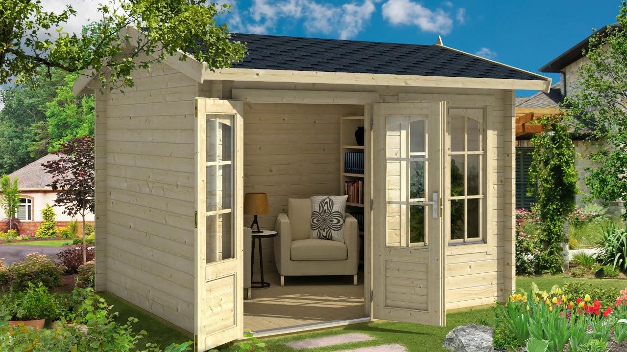 Gartenhaus aus Holz zum selber bauen unser Modell: Lasita ...