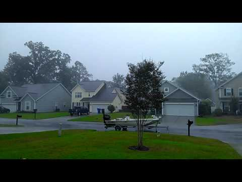 Tropical Storm Hermine in North Charleston, SC