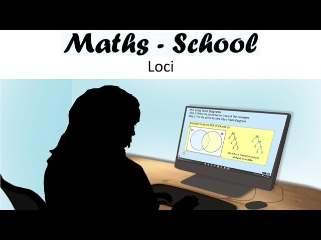 Loci and Locus of points Maths GCSE revision lesson (Maths - School)