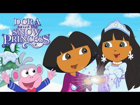 Dora the explorer saves the snow princess movie episode 5 run time 28 minutes youtube - Princesse dora ...