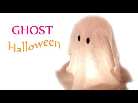 DIY crafts (Halloween decorations) GHOST - Innova Crafts