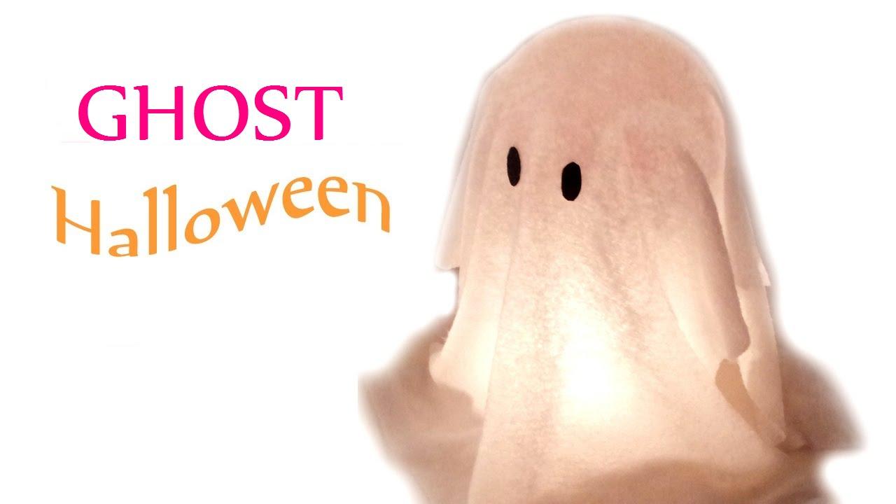 diy crafts halloween decorations ghost innova crafts youtube