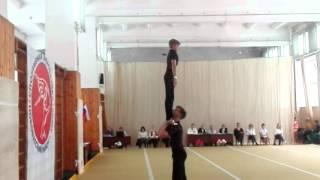 Мужская пара акробатика КМС