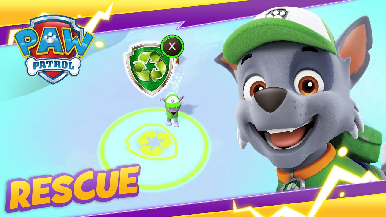 PAW Patrol Mighty Pups Fix The Ski Resort! Cartoon and Game Rescue PAW Patrol Official & Friends