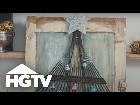Unique Creative DIY Holiday Wreath Ideas | HGTV