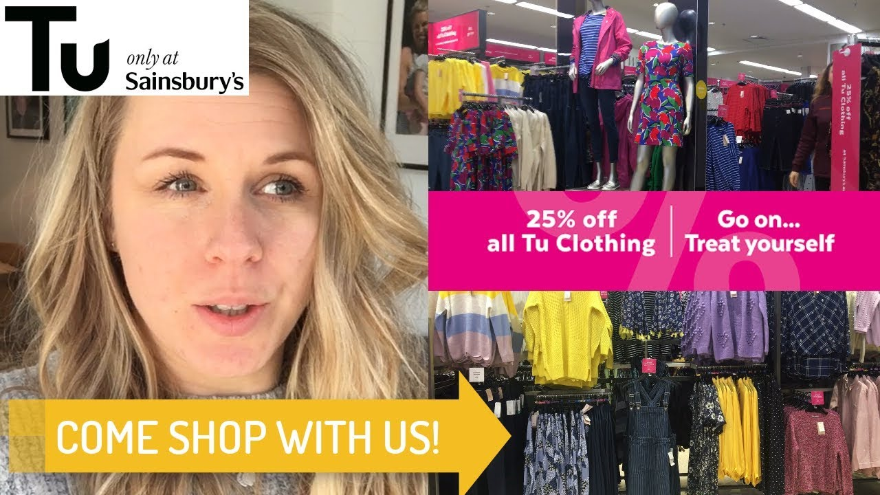 COME SALE AND WORLD BOOK DAY SHOPPING WITH ME | 25% OFF AT TU SAINSBURYS