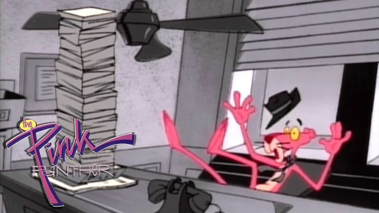 Black white pink all over the pink panther 1993