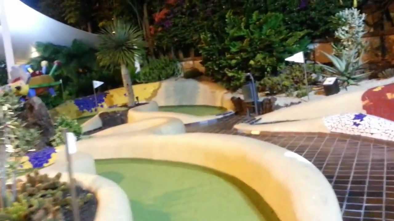 playa de las americas mini golf cz 1 youtube